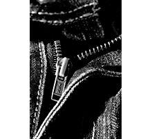 Zip It Up. Photographic Print