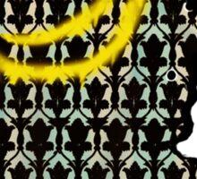 sherlock smiley wallpaper Sticker
