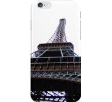 Eiffel Tower white iPhone Case/Skin
