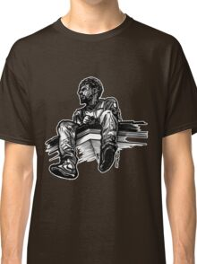 Sitting on a Rooftop Classic T-Shirt
