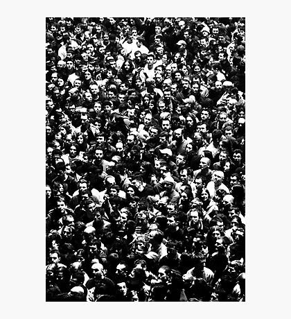 The Endless Crowd on an Iron Maiden Concert in Belgrade Photographic Print