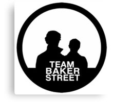team baker street Canvas Print
