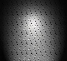 Spotlighted Diamond Plate by Daniel Bowers