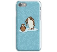 Father and Baby Penguin iPhone Case/Skin
