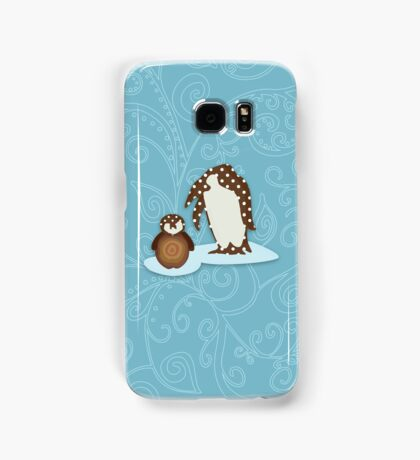 Father and Baby Penguin Samsung Galaxy Case/Skin