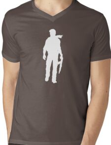 Nathan Drake.  Mens V-Neck T-Shirt