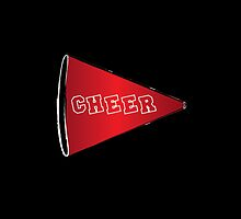 Cheer Megaphone by Daniel Bowers