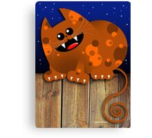 CALICO CAT Canvas Print