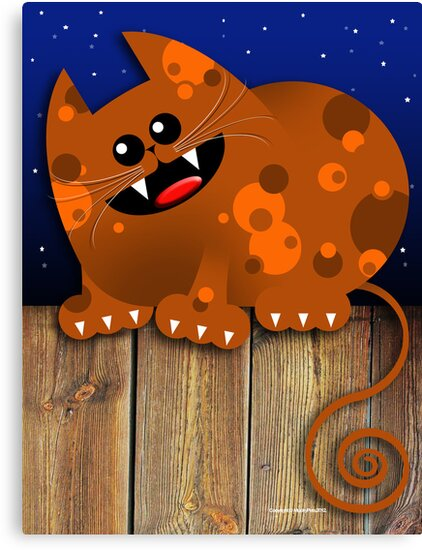 CALICO CAT by peter chebatte