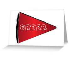 Cheer Megaphone Greeting Card