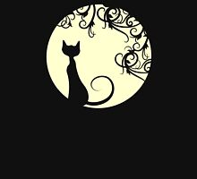 Black cat in the moon T-Shirt