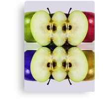 An Apple for Andy Canvas Print