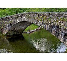 Old bridge near Keswick- Lake district Photographic Print