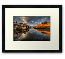 One to Another Framed Print