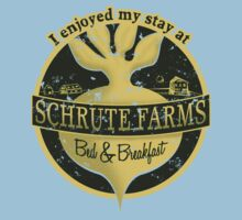 I enjoyed my stay at Schrute Farms (Green) Kids Clothes