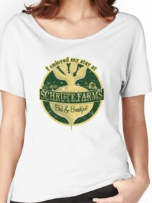 I enjoyed my stay at Schrute Farms (Green) Women's Relaxed Fit T-Shirt