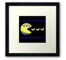 Pac-Minion Framed Print
