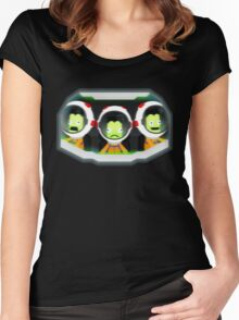Turbulence! Kerbal Space program. Women's Fitted Scoop T-Shirt