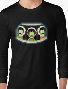 Turbulence! Kerbal Space program. Long Sleeve T-Shirt