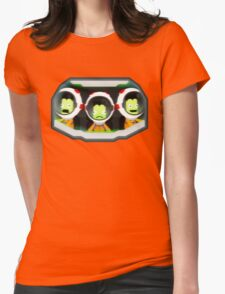 Turbulence! Kerbal Space program. Womens Fitted T-Shirt
