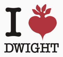 I Beet Dwight  One Piece - Short Sleeve