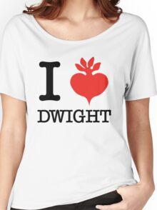 I Beet Dwight  Women's Relaxed Fit T-Shirt