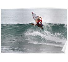 Mick Fanning at The Breaka Burleigh Pro Poster