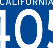 Interstate Sign 405 California, USA Sticker