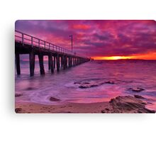 """Rising Over The Rip"" Canvas Print"