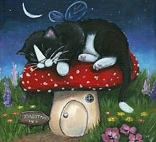 Toadstool Inn by Lisa Marie Robinson