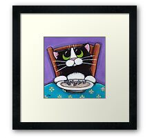 Fish Tail Soup Framed Print
