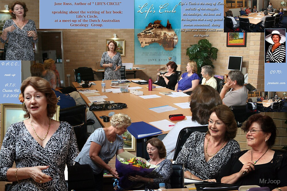 """And, in February, author of """"Life's Circle"""", Jane Russ, addressed the DAGG! by MrJoop"""