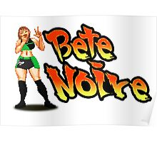 Bete Noire - Street Fighter Poster