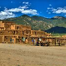 Taos Pueblo New Mexico by K D Graves Photography