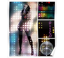 Dance series - Disco Poster