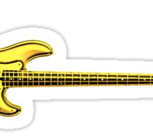 Learn To Play Electric Bass Yellow Sticker