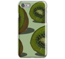 Kiwifruit Kiwiana Kiwi iPhone Case/Skin