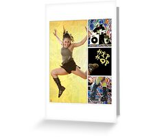 Dance series - Hip Hop Greeting Card