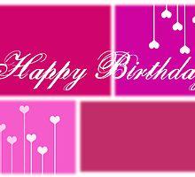 Happy Birthday (girl) by Denise Abé
