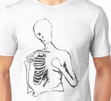 lonely skele Unisex T-Shirt