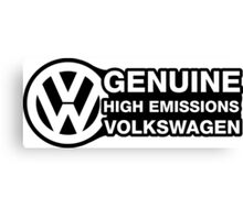 Genuine High Emissions VW Canvas Print