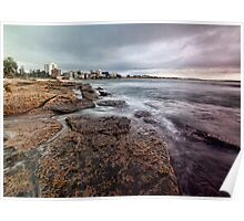 On the Rocks - Cronulla NSW Poster