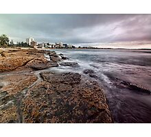 On the Rocks - Cronulla NSW Photographic Print