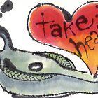 Take Heart (Oil Lamp) by dosankodebbie
