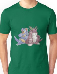 Beech Collection - Nidoking and Nidoqueen Unisex T-Shirt