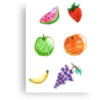 Fruity fun for everyone! Canvas Print