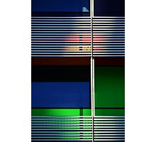 colours and shapes of the city 1 Photographic Print