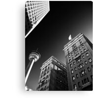 The City of Calgary Canvas Print