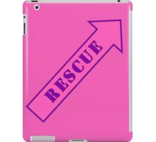FIGHTER RESCUE - Sassy Pink iPad Case/Skin