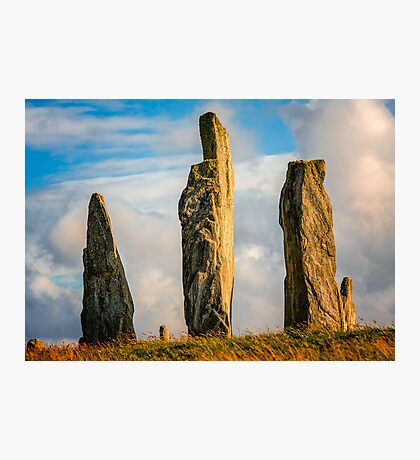 Callanish - Three Sentinels Photographic Print